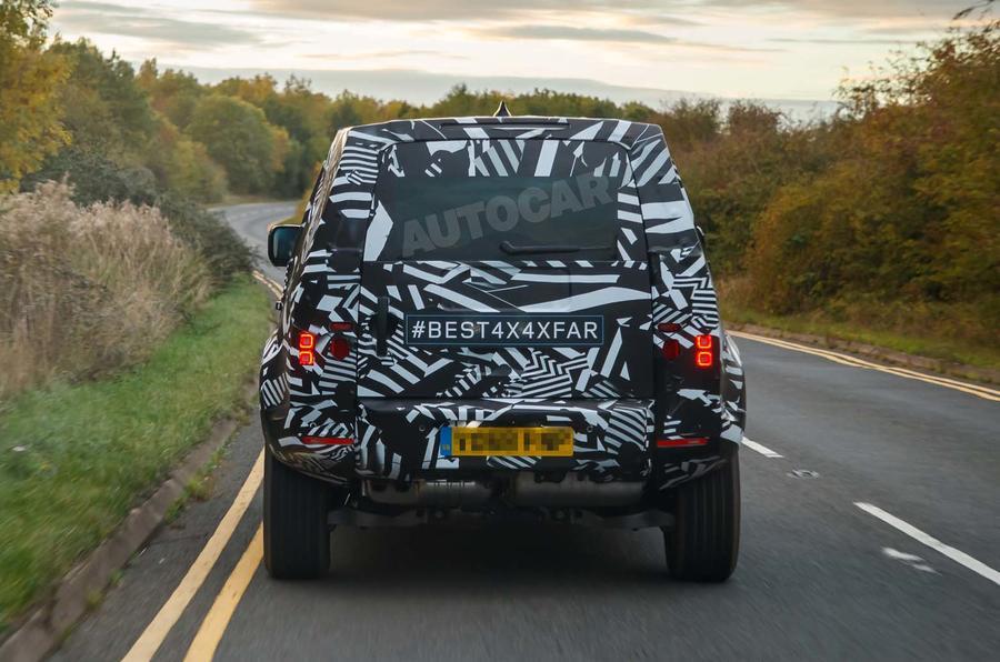 Новый Land Rover Defender 2020